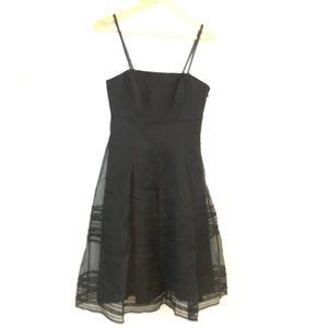 White House Black Market Strappy Silk Dress